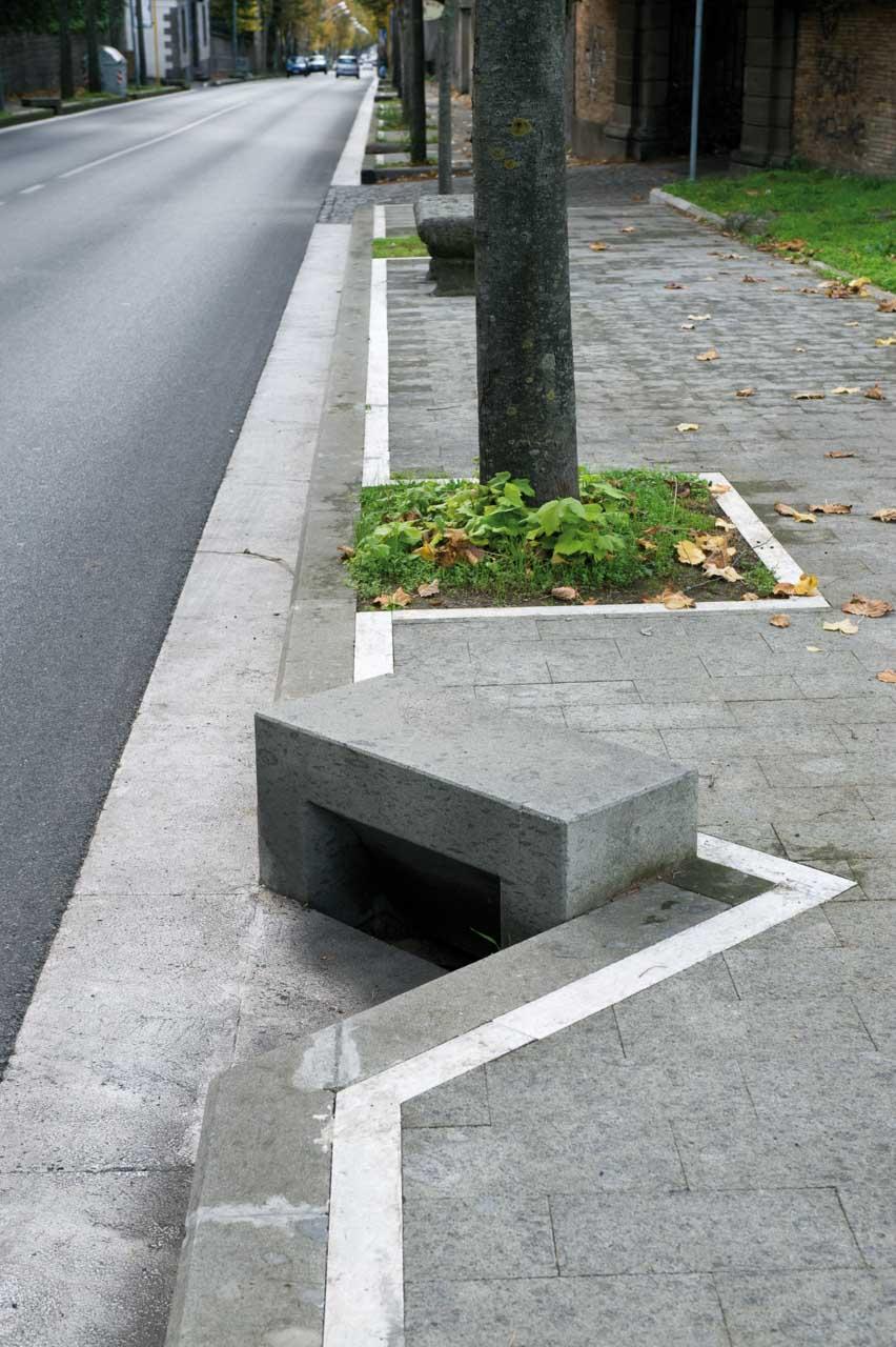 Pavimento per esterno in pietra micci peperino - Pavimento pietra esterno ...