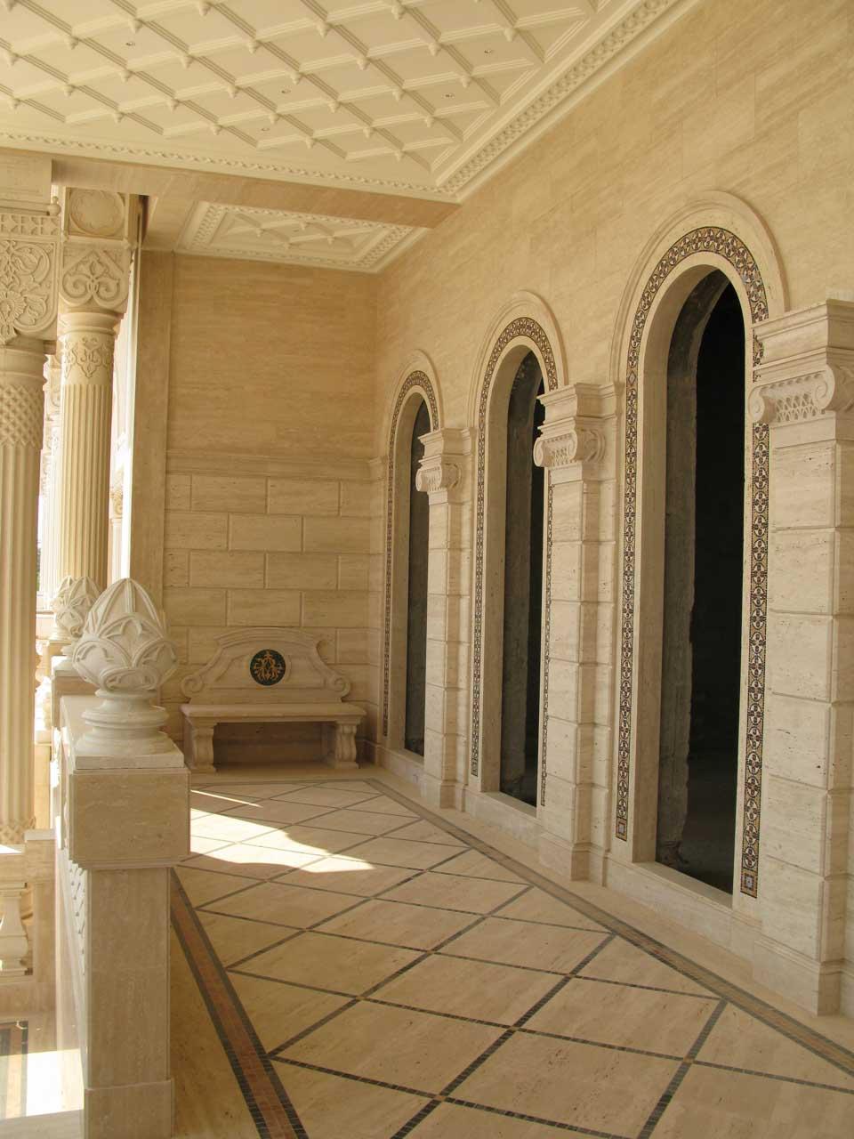 architettura in pietra