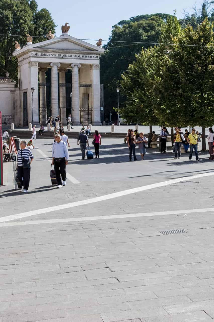 Pavimentazione urbana roma piazzale flaminio micci peperino for Micci peperino