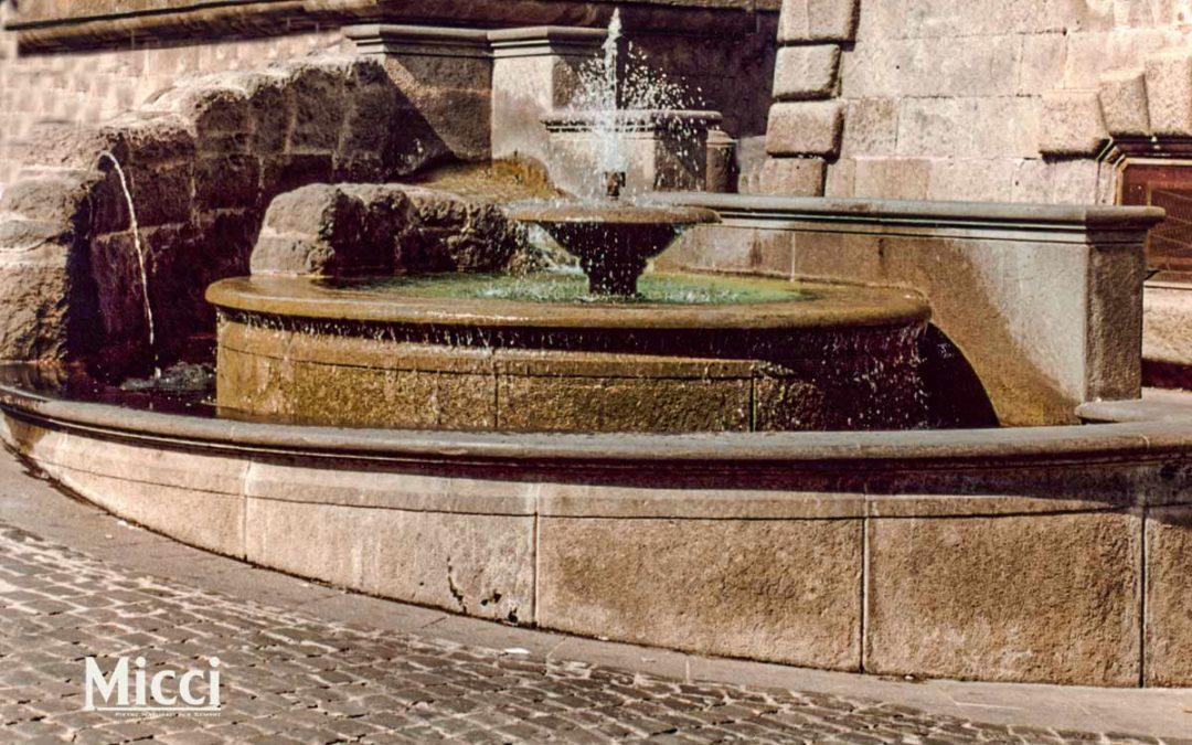 Fontane in pietra: tutte le tipologie realizzabili