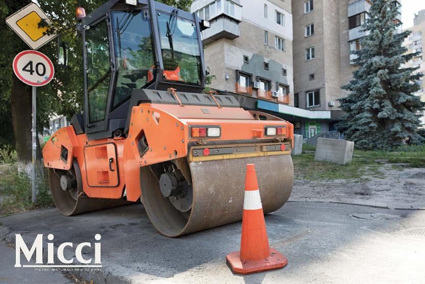 preparazione terreno per pavimentazione esterna